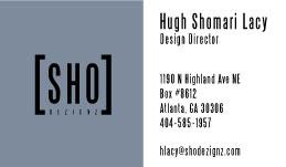 Sho Dezignz Card